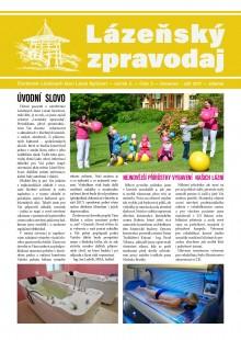 Lázeňský zpravodaj<br>2. ročník, číslo 3<br>červenec - září 2017