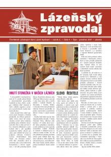 Lázeňský zpravodaj<br>2. ročník, číslo 4<br>říjen - prosinec 2017