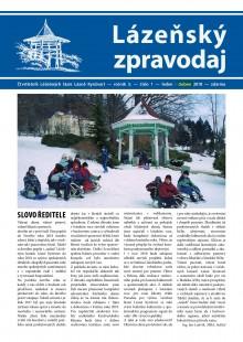 Lázeňský zpravodaj<br>3. ročník, číslo 1<br>leden - březen 2018