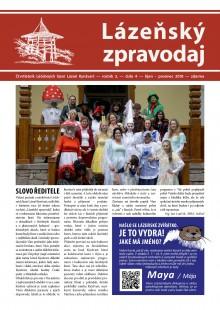 Lázeňský zpravodaj<br>3. ročník, číslo 4<br>říjen - prosinec 2018