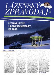 Lázeňský zpravodaj<br>4. ročník, číslo 1<br>leden - březen 2019