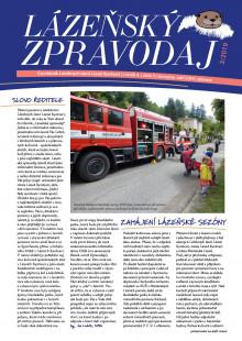 Lázeňský zpravodaj<br>4. ročník, číslo 3<br>červenec - září 2019
