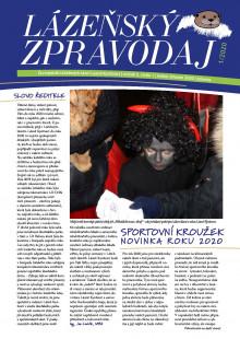 Lázeňský zpravodaj<br>5. ročník, číslo 1<br>leden - březen 2020