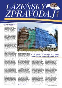 Lázeňský zpravodaj<br>5. ročník, číslo 2<br>duben - červen 2020