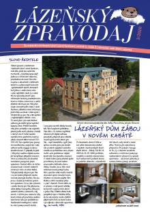Lázeňský zpravodaj<br>5. ročník, číslo 3<br>červenec - září