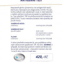 Antigenní testy , 13. 2. 2021