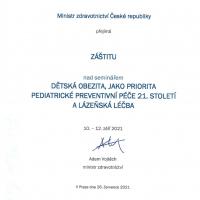 21.seminář lékařů a zdravotnických pracovníků , 2. 8. 2021