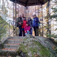 ZÁMECKÝ PARK - vycházka pro dospělé klienty lázní , 15. 10. 2019